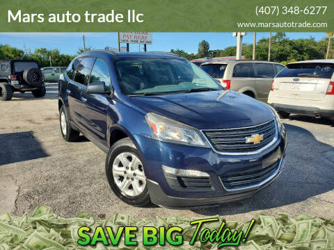 2016 Chevrolet Traverse for sale at Mars auto trade llc in Kissimmee FL