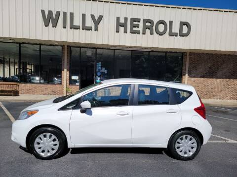 2016 Nissan Versa Note for sale at Willy Herold Automotive in Columbus GA