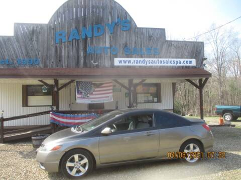 2006 Honda Civic for sale at Randy's Auto Sales in Franklin PA