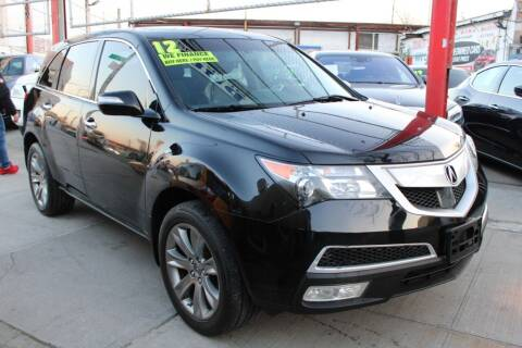 2012 Acura MDX for sale at LIBERTY AUTOLAND INC - LIBERTY AUTOLAND II INC in Queens Villiage NY