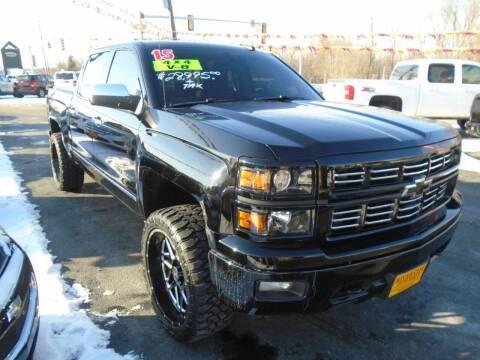 2015 Chevrolet Silverado 1500 for sale at River City Auto Sales in Cottage Hills IL