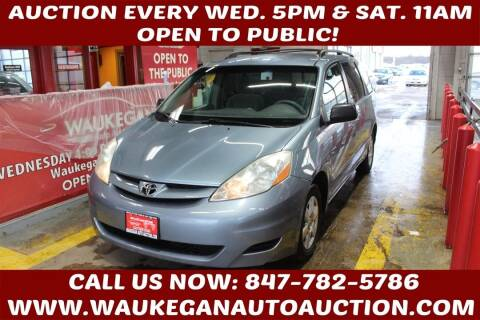 2006 Toyota Sienna for sale at Waukegan Auto Auction in Waukegan IL
