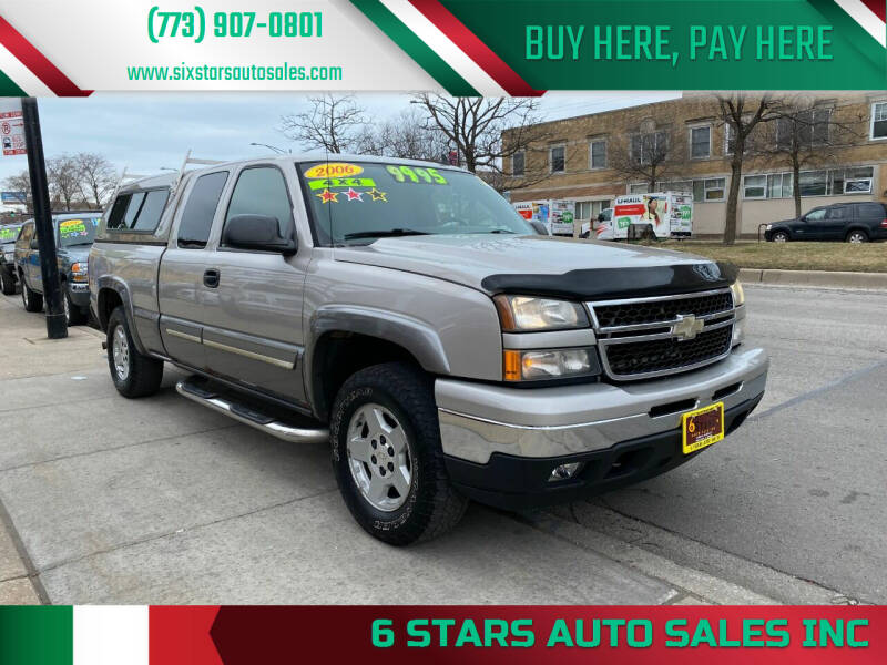 2006 Chevrolet Silverado 1500 for sale at 6 STARS AUTO SALES INC in Chicago IL