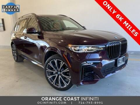 2020 BMW X7 for sale at ORANGE COAST CARS in Westminster CA