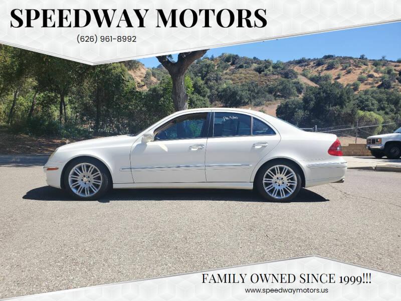 2008 Mercedes-Benz E-Class for sale at Speedway Motors in Glendora CA
