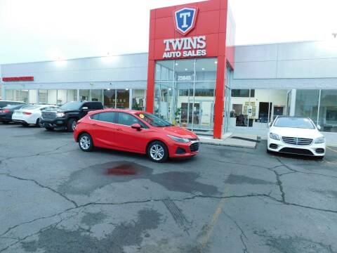 2019 Chevrolet Cruze for sale at Twins Auto Sales Inc Redford 1 in Redford MI