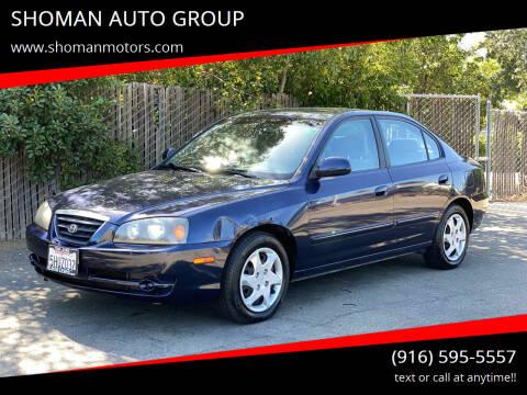 2004 Hyundai Elantra for sale at SHOMAN AUTO GROUP in Davis CA