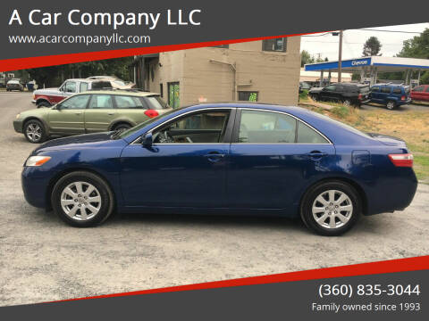 2007 Toyota Camry for sale at A Car Company LLC in Washougal WA