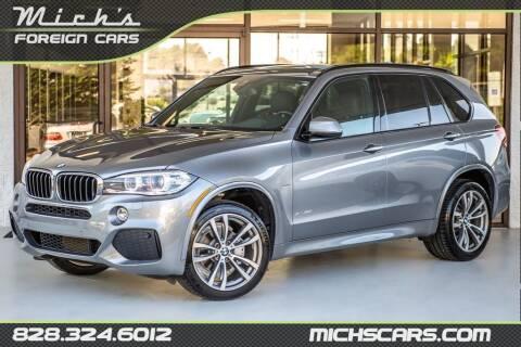 2016 BMW X5 for sale at Mich's Foreign Cars in Hickory NC