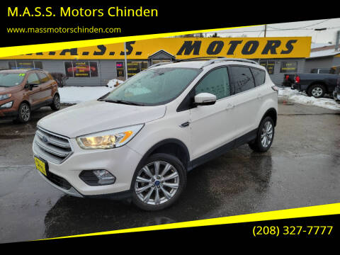 2017 Ford Escape for sale at M.A.S.S. Motors Chinden in Garden City ID