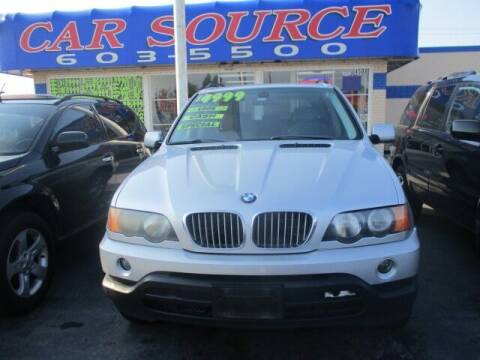 2003 BMW X5 for sale at Car One - CAR SOURCE OKC in Oklahoma City OK