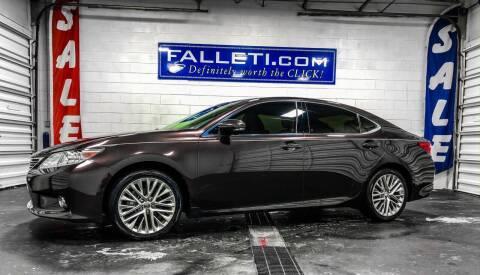 2013 Lexus ES 350 for sale at Falleti Motors, Inc.  est. 1976 in Batavia NY