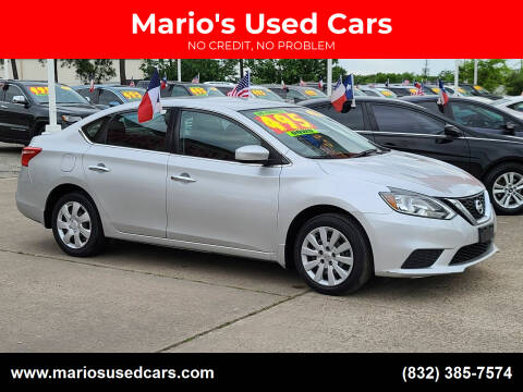 2018 Nissan Sentra for sale at Mario's Used Cars in Houston TX