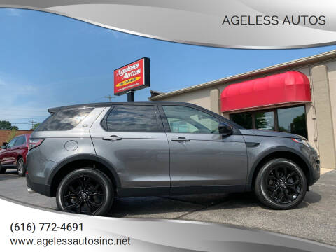 2018 Land Rover Discovery Sport for sale at Ageless Autos in Zeeland MI