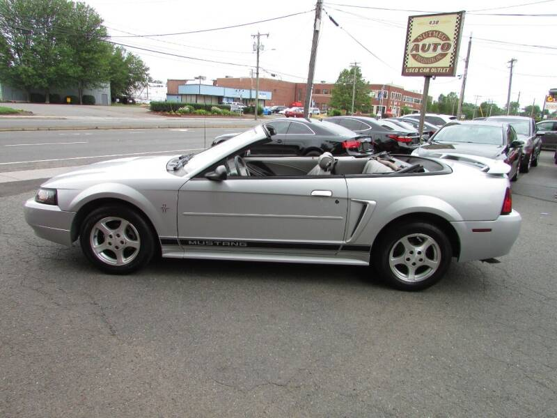 2002 Ford Mustang for sale at Nutmeg Auto Wholesalers Inc in East Hartford CT
