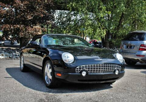 2002 Ford Thunderbird for sale at Cutuly Auto Sales in Pittsburgh PA