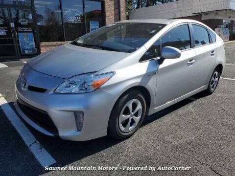 2012 Toyota Prius for sale at Michael D Stout in Cumming GA
