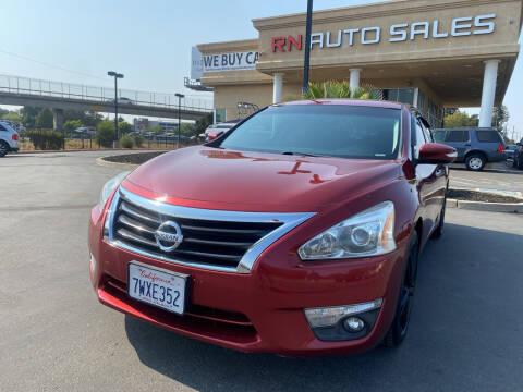 2013 Nissan Altima for sale at RN Auto Sales Inc in Sacramento CA