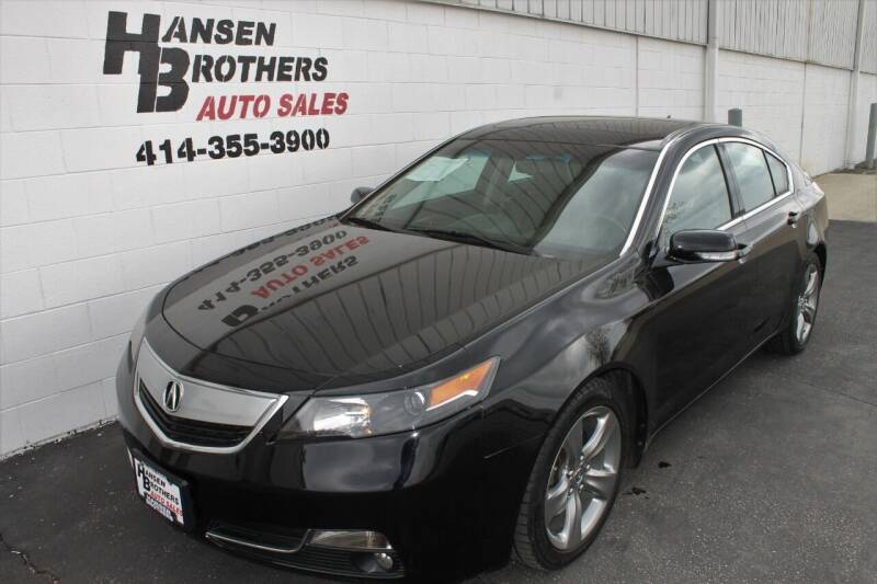 2012 Acura TL for sale at HANSEN BROTHERS AUTO SALES in Milwaukee WI