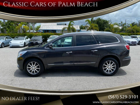 2015 Buick Enclave for sale at Classic Cars of Palm Beach in Jupiter FL