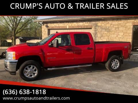 2011 Chevrolet Silverado 2500HD for sale at CRUMP'S AUTO & TRAILER SALES in Crystal City MO