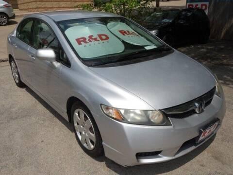 2009 Honda Civic for sale at R & D Motors in Austin TX
