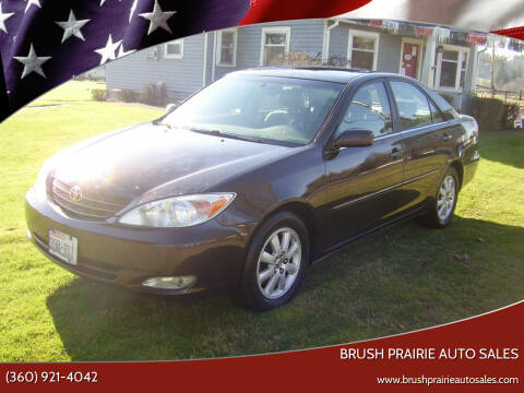 2004 Toyota Camry for sale at Brush Prairie Auto Sales in Battle Ground WA