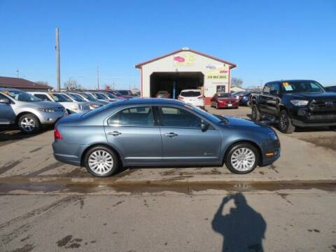 2011 Ford Fusion Hybrid for sale at Jefferson St Motors in Waterloo IA