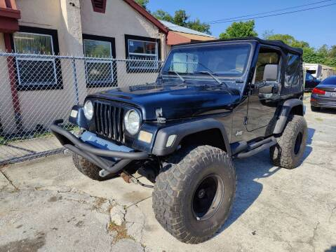 2002 Jeep Wrangler for sale at Advance Import in Tampa FL