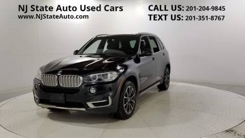2018 BMW X5 for sale at NJ State Auto Auction in Jersey City NJ