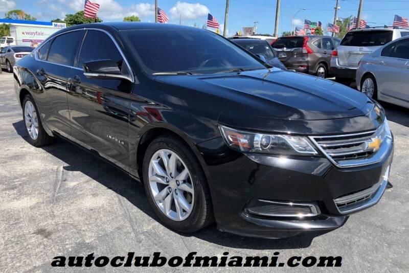 2017 Chevrolet Impala for sale at AUTO CLUB OF MIAMI in Miami FL