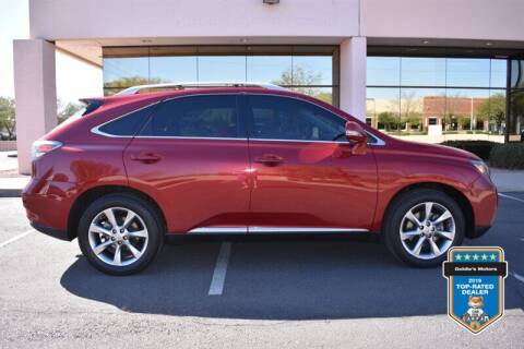 2012 Lexus RX 350 for sale at GOLDIES MOTORS in Phoenix AZ