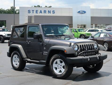 2017 Jeep Wrangler for sale at Stearns Ford in Burlington NC