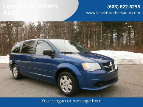 2011 Dodge Grand Caravan for sale at Leavitt Brothers Auto in Hooksett NH