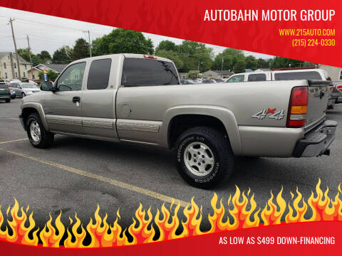 2000 Chevrolet Silverado 1500 for sale at Autobahn Motor Group in Willow Grove PA
