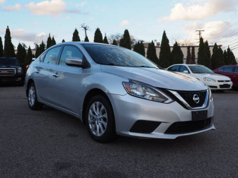 2018 Nissan Sentra for sale at East Providence Auto Sales in East Providence RI