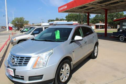 2014 Cadillac SRX for sale at KD Motors in Lubbock TX