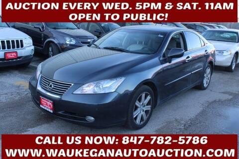 2007 Lexus ES 350 for sale at Waukegan Auto Auction in Waukegan IL
