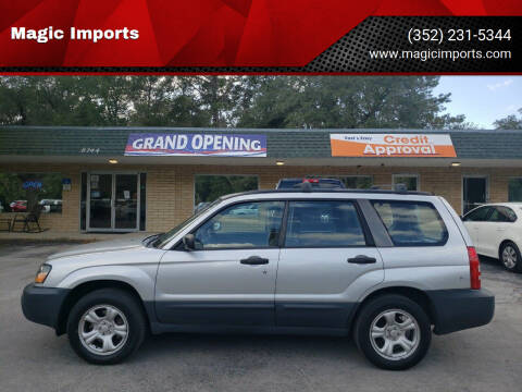 2005 Subaru Forester for sale at Magic Imports in Melrose FL