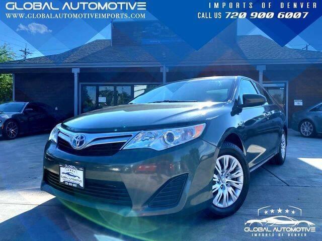 2012 Toyota Camry Hybrid for sale at Global Automotive Imports of Denver in Denver CO