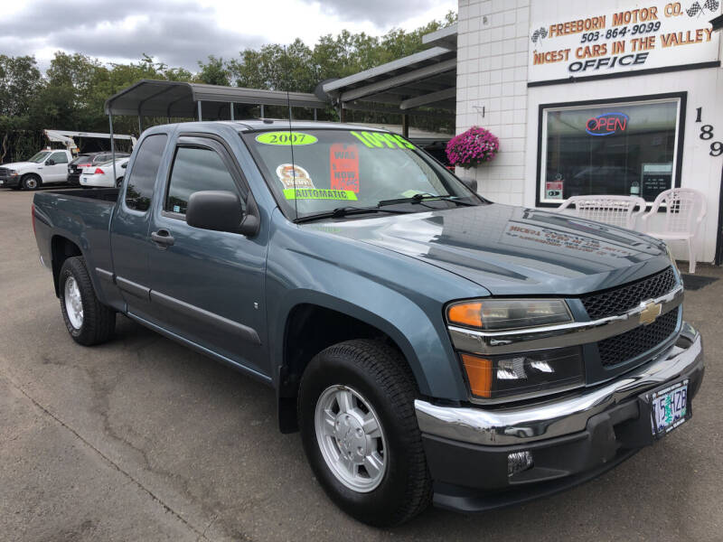 2007 Chevrolet Colorado for sale at Freeborn Motors in Lafayette OR