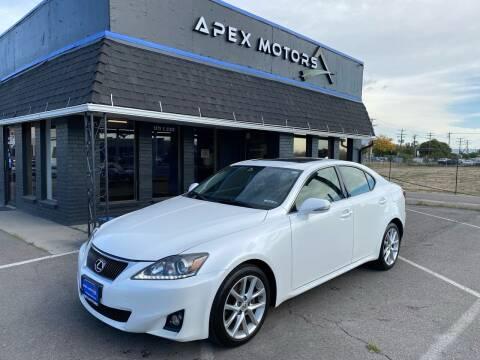 2012 Lexus IS 250 for sale at Apex Motors in Murray UT