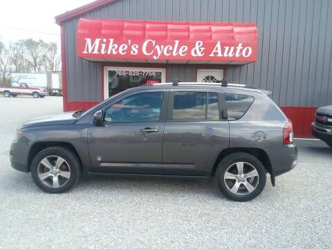 2017 Jeep Compass for sale at MIKE'S CYCLE & AUTO in Connersville IN