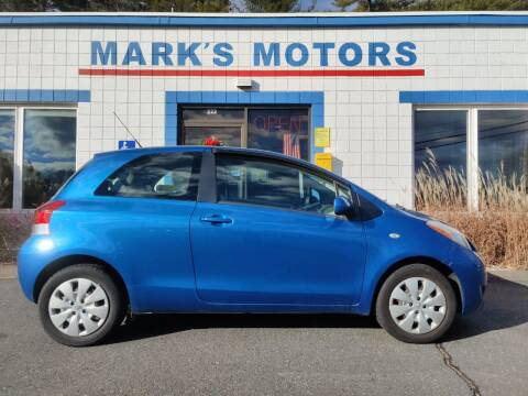 2010 Toyota Yaris for sale at Mark's Motors in Northampton MA