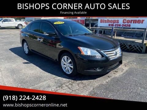 2014 Nissan Sentra for sale at BISHOPS CORNER AUTO SALES in Sapulpa OK