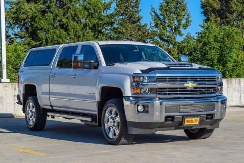 2018 Chevrolet Silverado 2500HD for sale at Washington Auto Credit in Puyallup WA