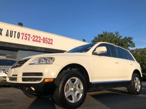 2005 Volkswagen Touareg for sale at Trimax Auto Group in Norfolk VA