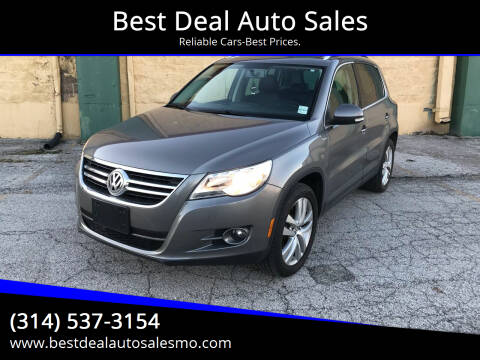 2010 Volkswagen Tiguan for sale at Best Deal Auto Sales in Saint Charles MO