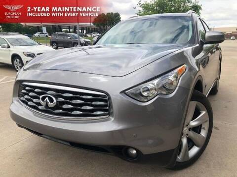 2010 Infiniti FX50 for sale at European Motors Inc in Plano TX