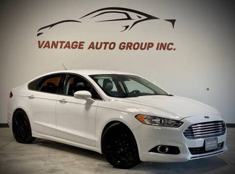 2014 Ford Fusion for sale at Vantage Auto Group Inc in Fresno CA